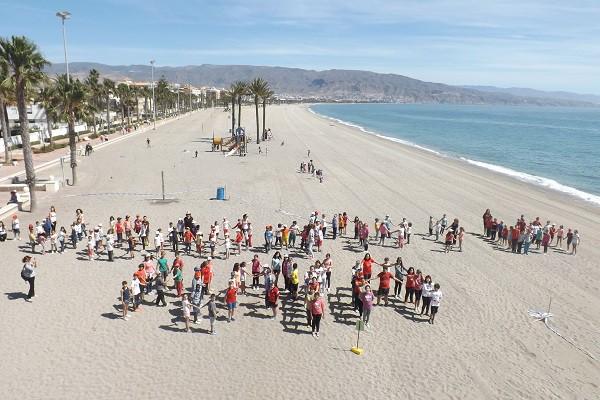 Actividad playa