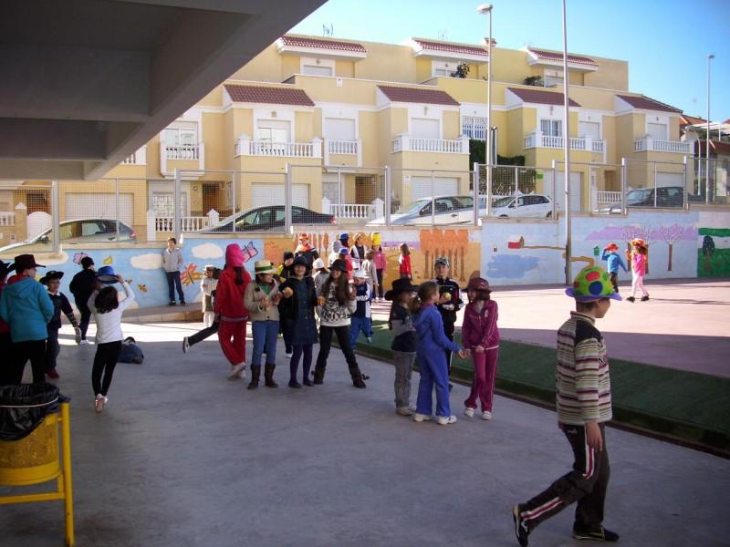 Carnaval en el patio