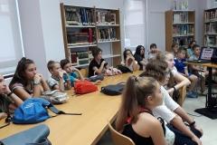 Visita  a la biblioteca Francisco Villaespesa 3º ciclo